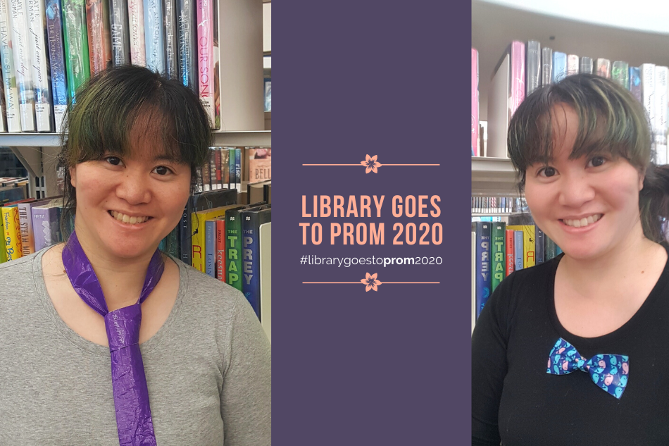 Library Goes to Prom 2020: DIY Duct Tape Accessories