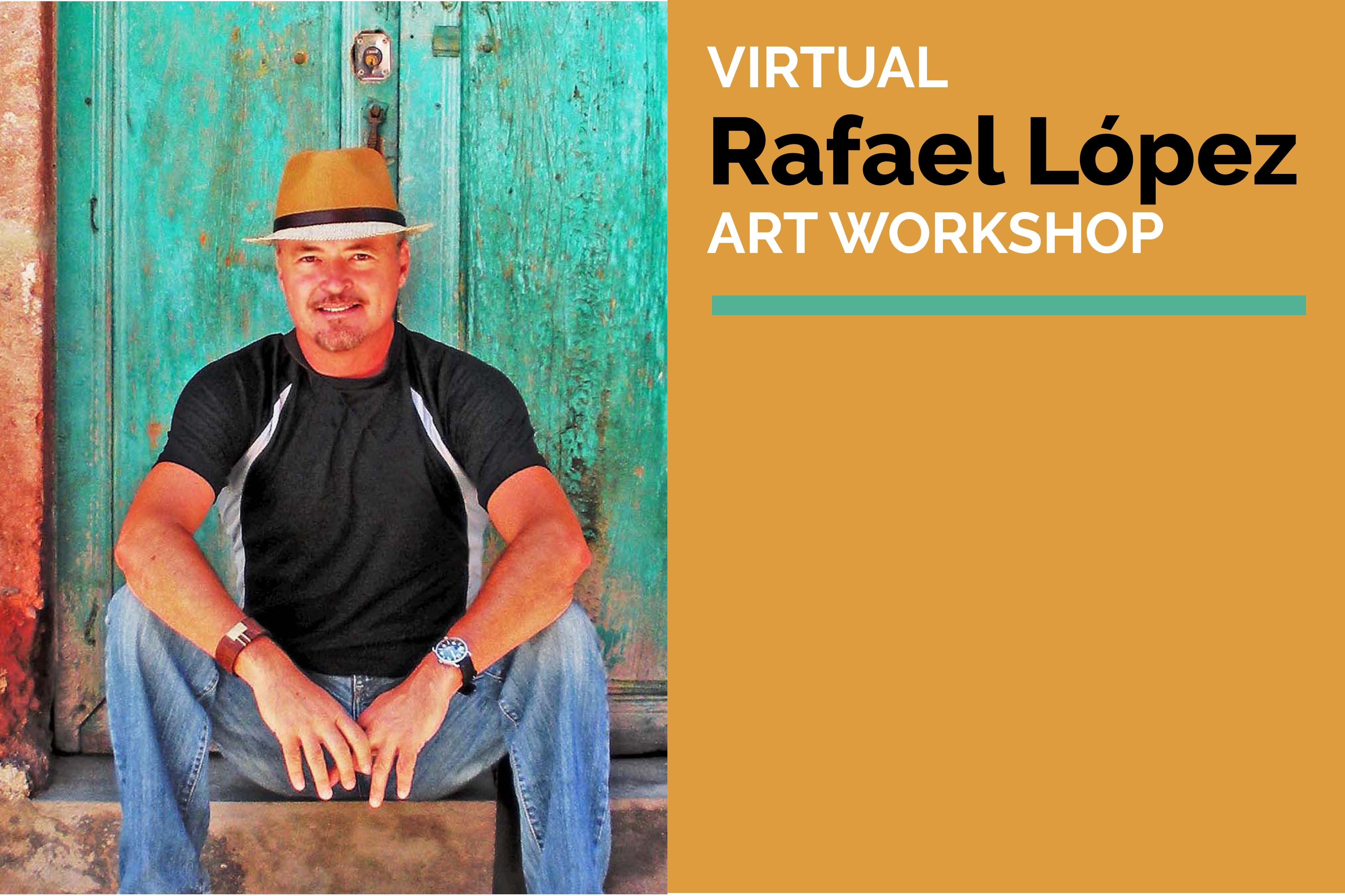 Award-Winning Illustrator Rafael Lopez leading free Art Workshops