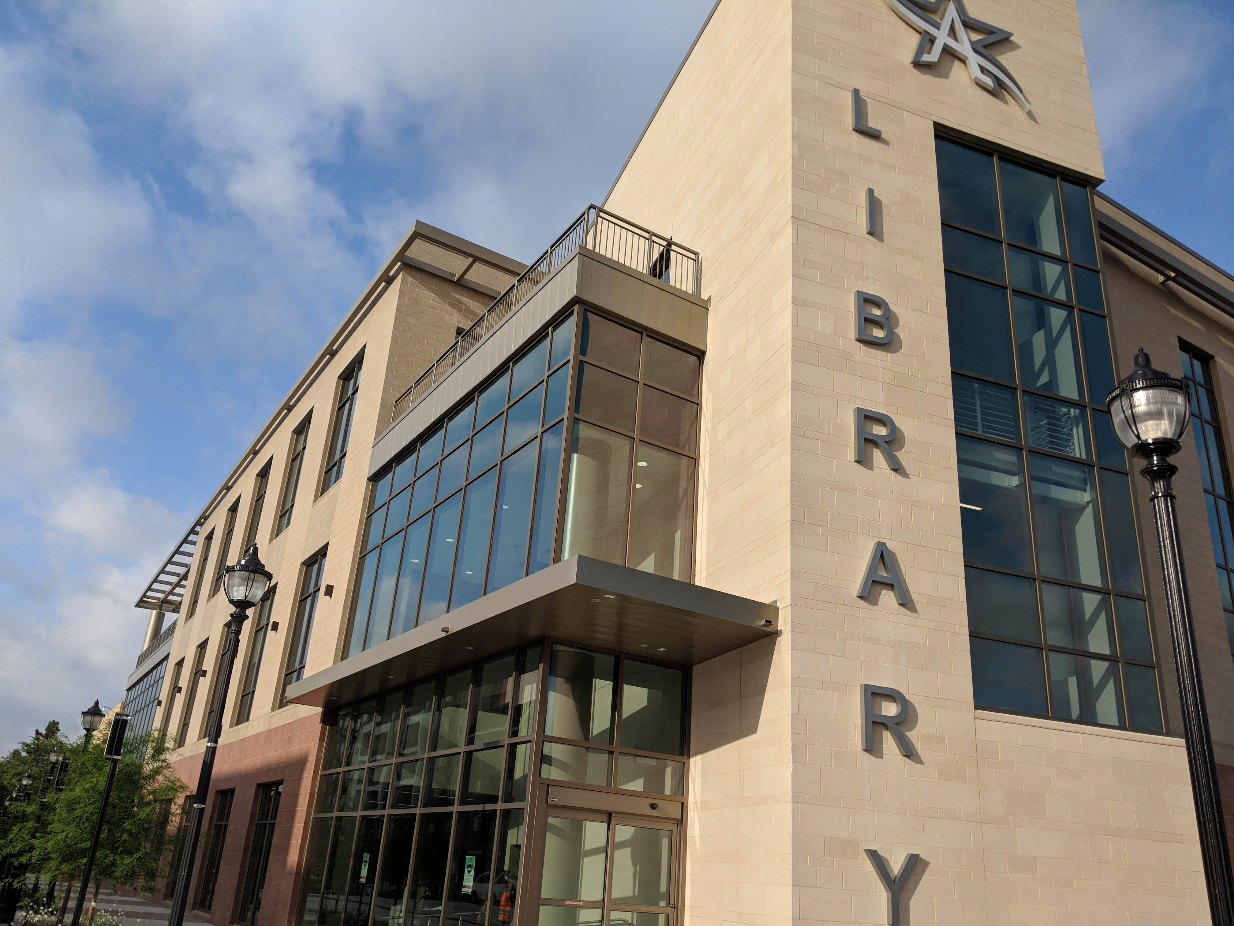 George W Hawkes Downtown Library Arlington Public Library