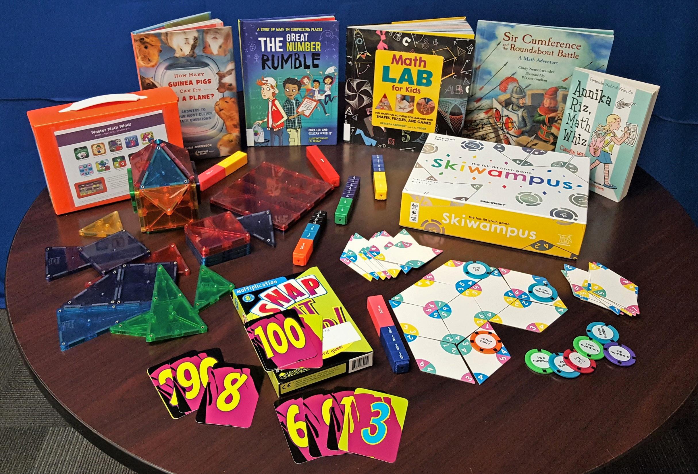 Math STEM Kits Grade 4-6