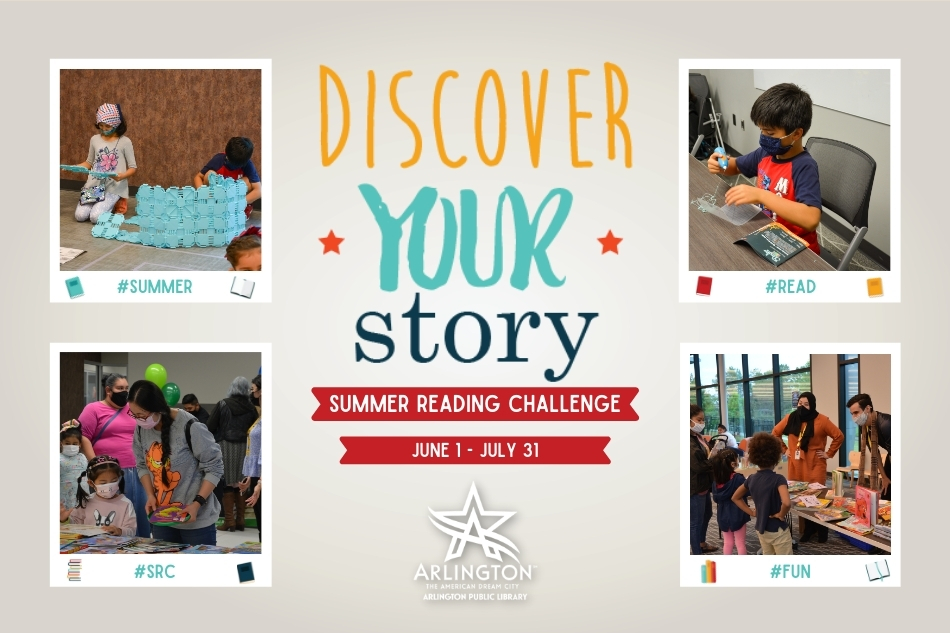 Discover Your Story this Summer with the Arlington Public Library