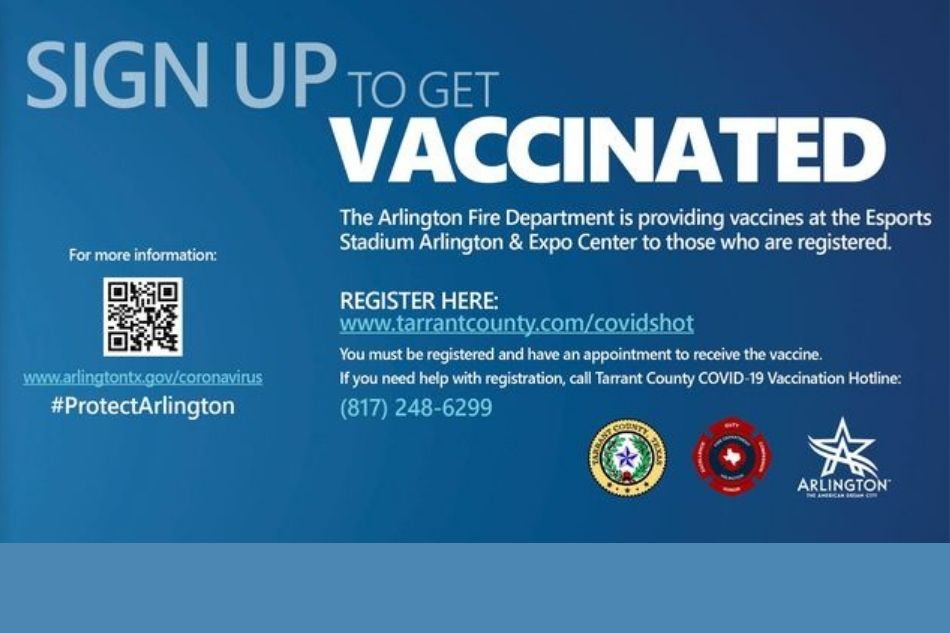 Sign Up for Covid-19 Vaccine at Arlington Public Library