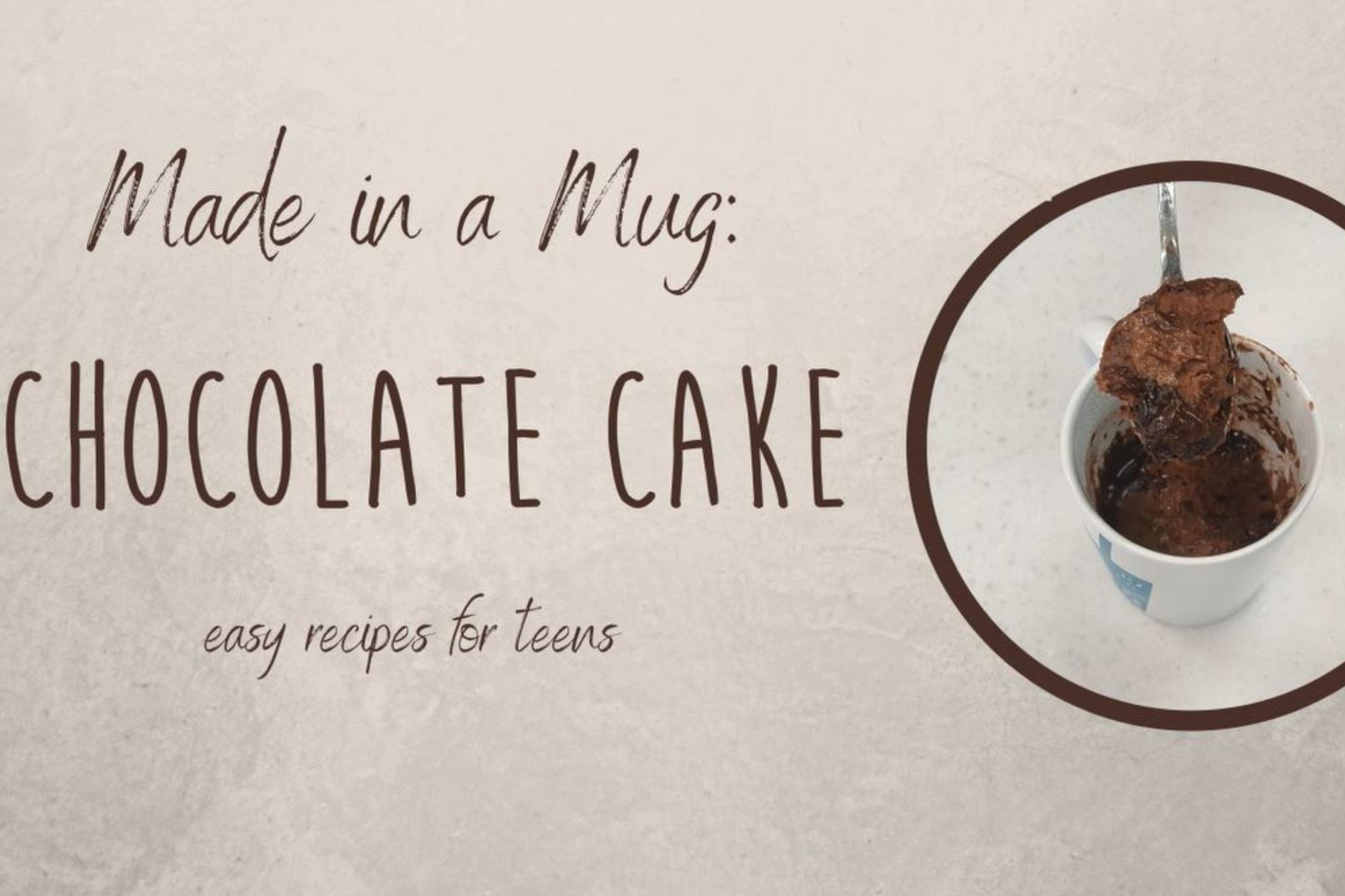 Made in a Mug: Chocolate Cake