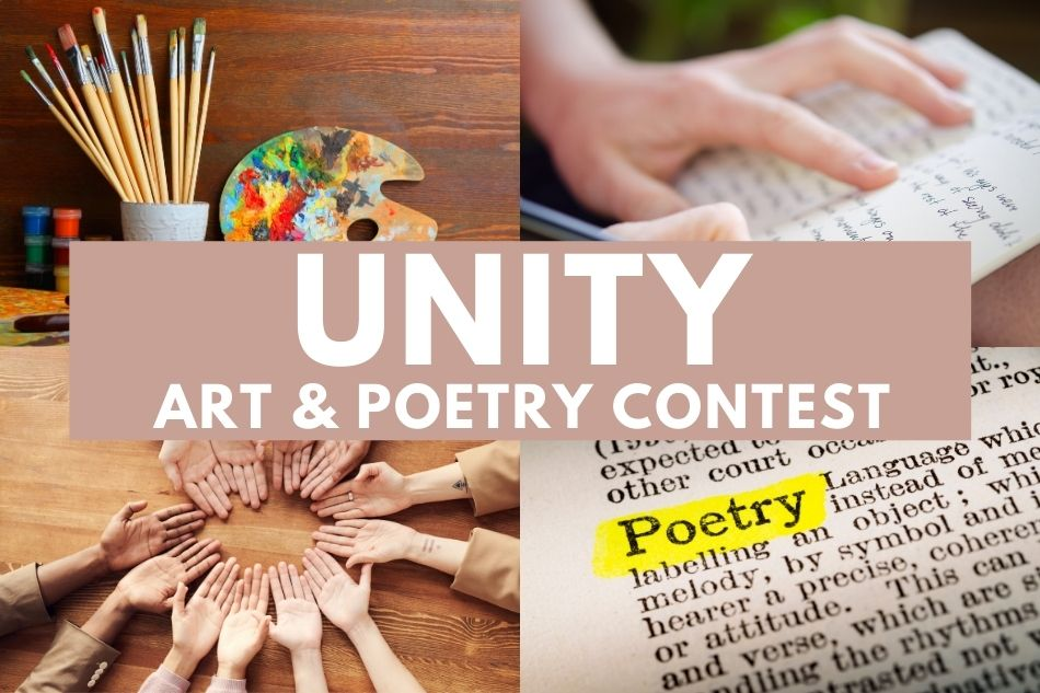 Unity Art and Poetry Contest open to all ages