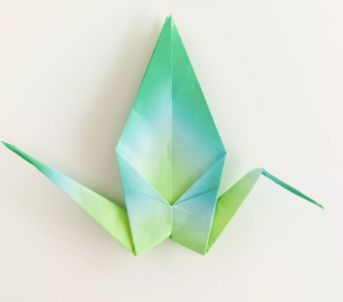 Paper: printer paper Size: A4 How To Make an Origami Crane In this ... | 436x495